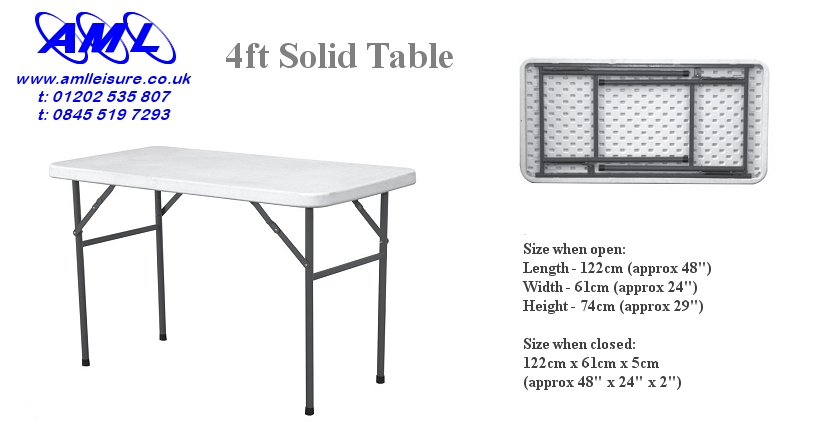 Click Here To Visit Our On Line Catalogue To Buy Our 4ft Fold Flat Trestle  Table