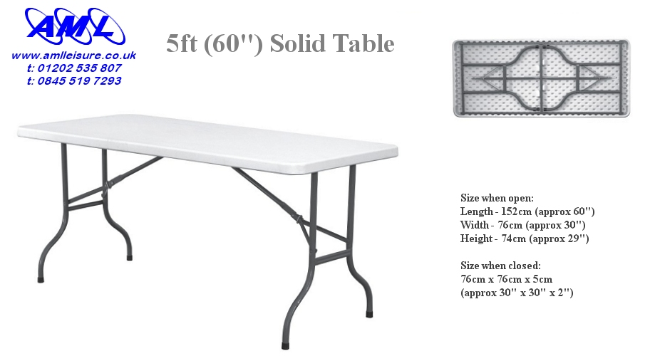Folding Tables Amp Chairs Banquet Catering 5ft 6ft