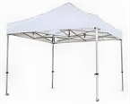 Pop up Aluminium Gazebo complete with roof and four sides